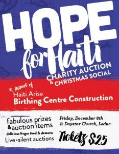 Hope For Haiti - Daystar Church Leduc